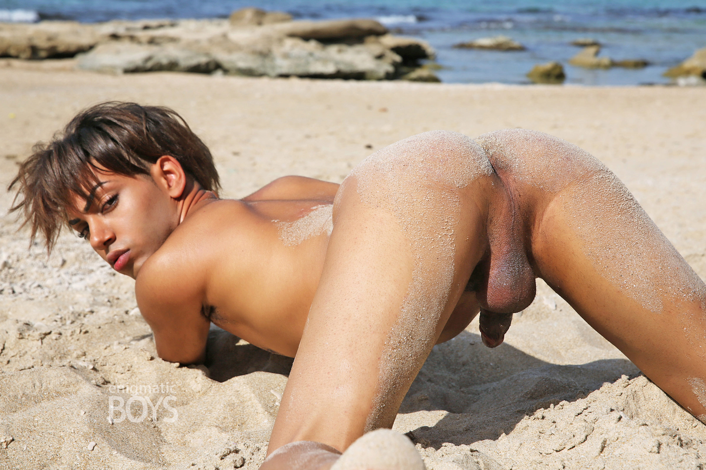 gay beach taormina nudist